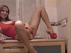 Mulata lesbiana hermosa lame el coño peludo de su novia en mujeres mayores follando con perros POV